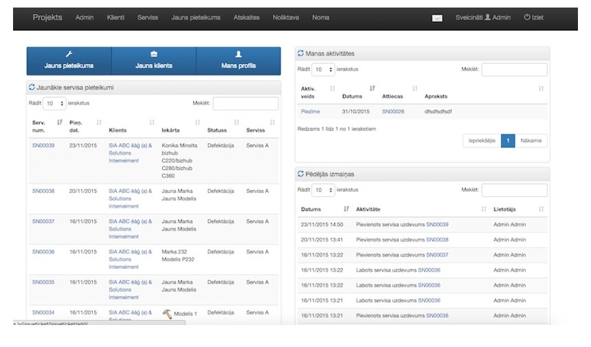 SATS – CRM Tool for Repair Shops and Rents